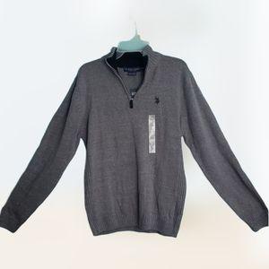 U.S Polo Assn Zippered Neck Sweater